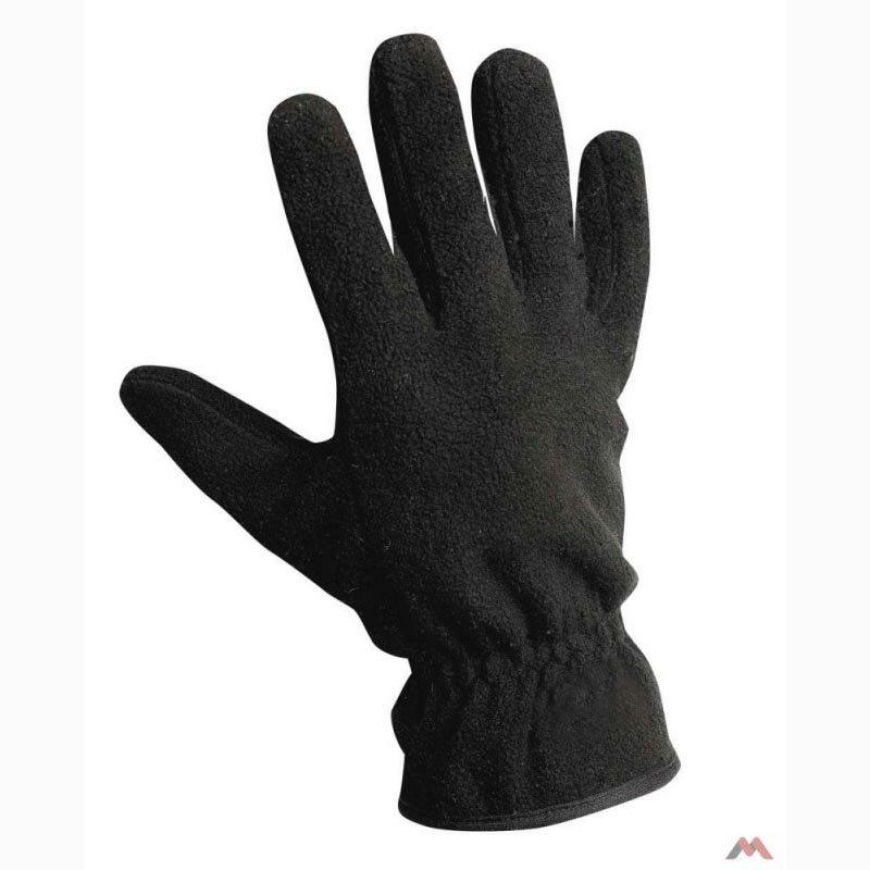 MYNAH téli polár kesztyű fekete színben
