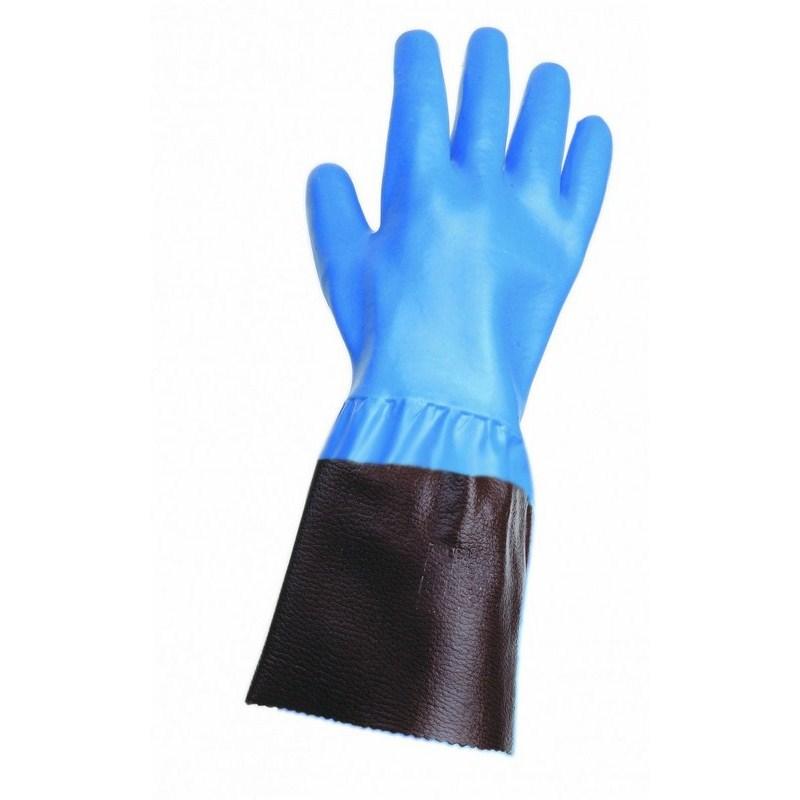 UNIVERSAL kesztyű mandzsettával kék 11cm 10,5