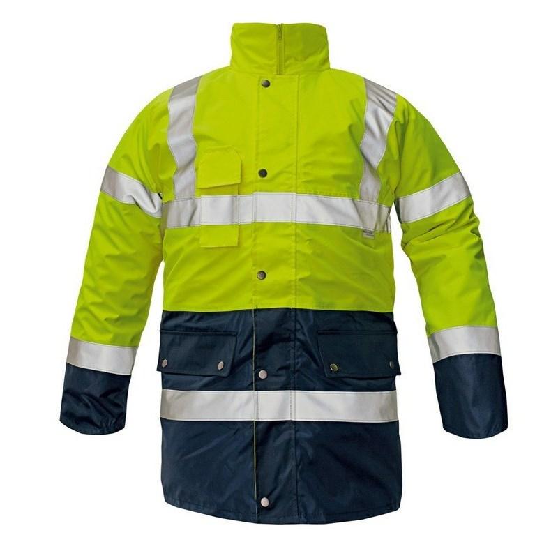 BIROAD HV kabát sárga-kék