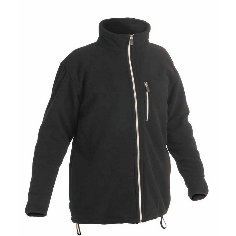 KARELA FLEECE polár pulóver fekete