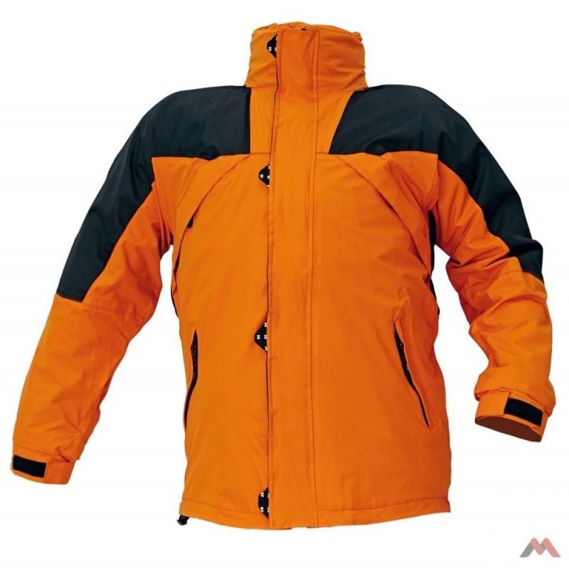 ANZAC kabát, polár bélés narancs
