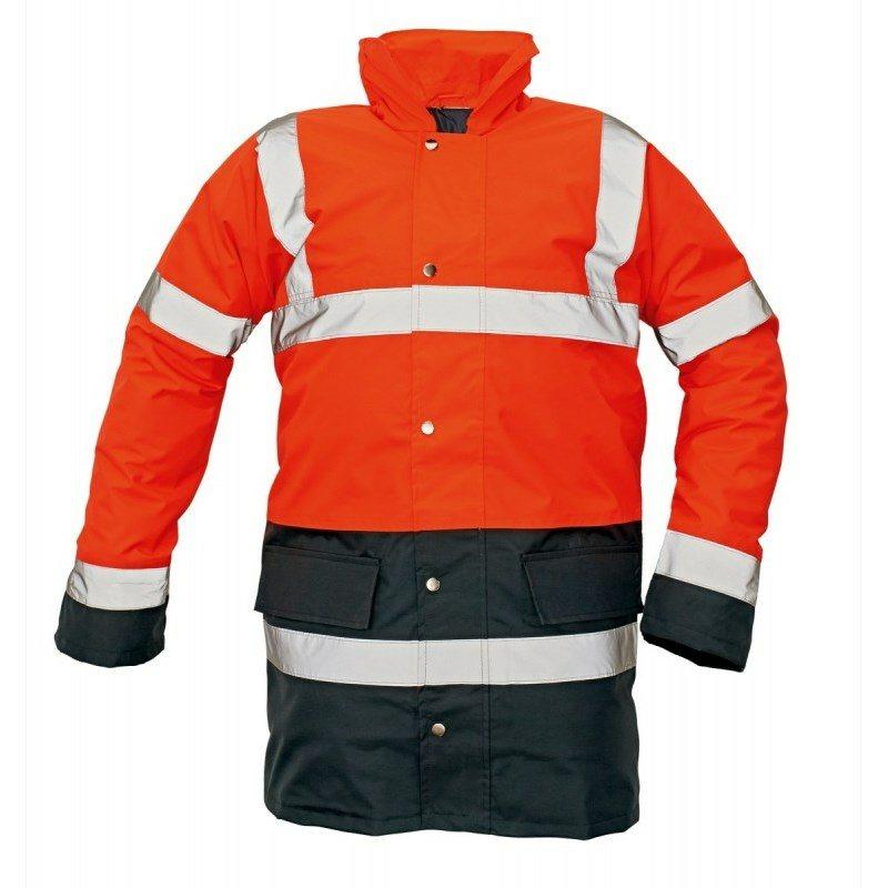 Jól láthatósági Kabát: SEFTON jól láthatósági ruházat, Kabát