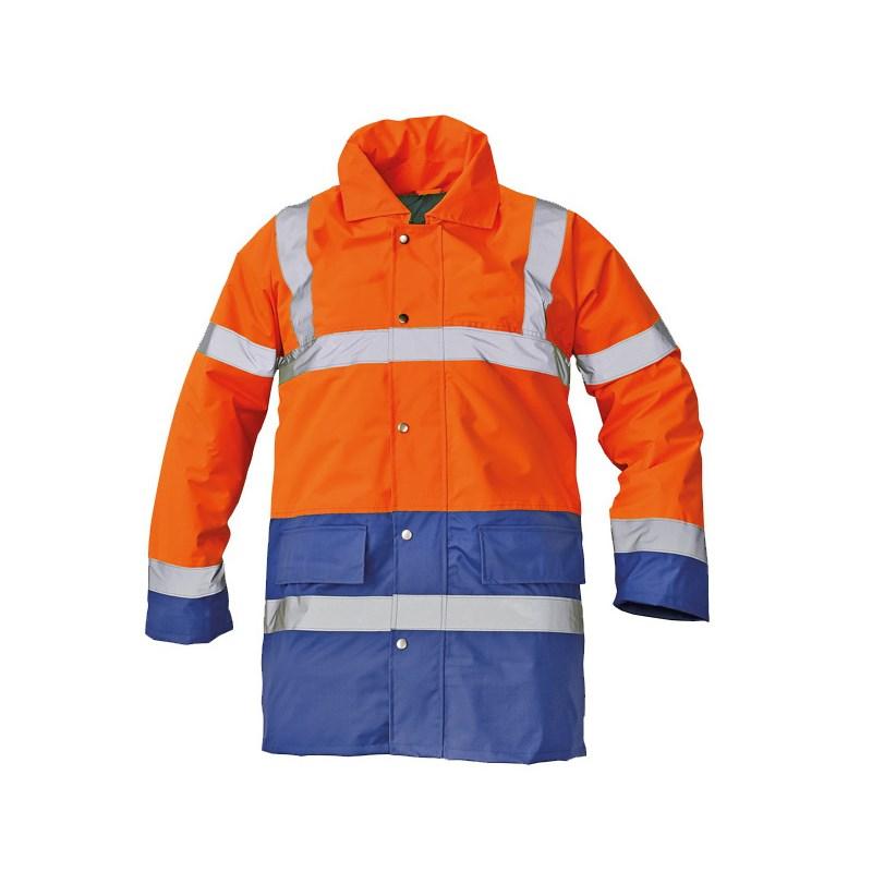SEFTON kabát HV narancs/kék
