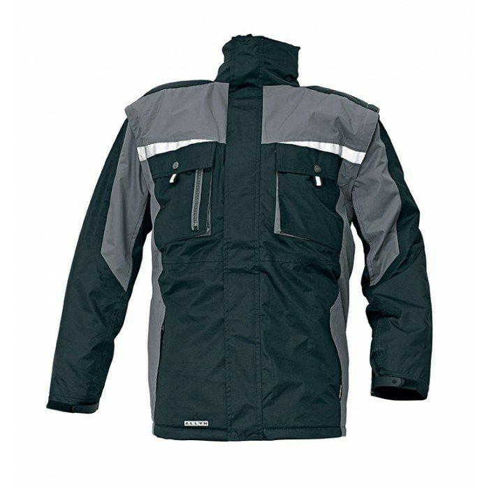ALLYN téli kabát fekete