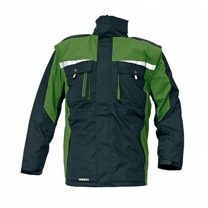 ALLYN téli kabát zöld