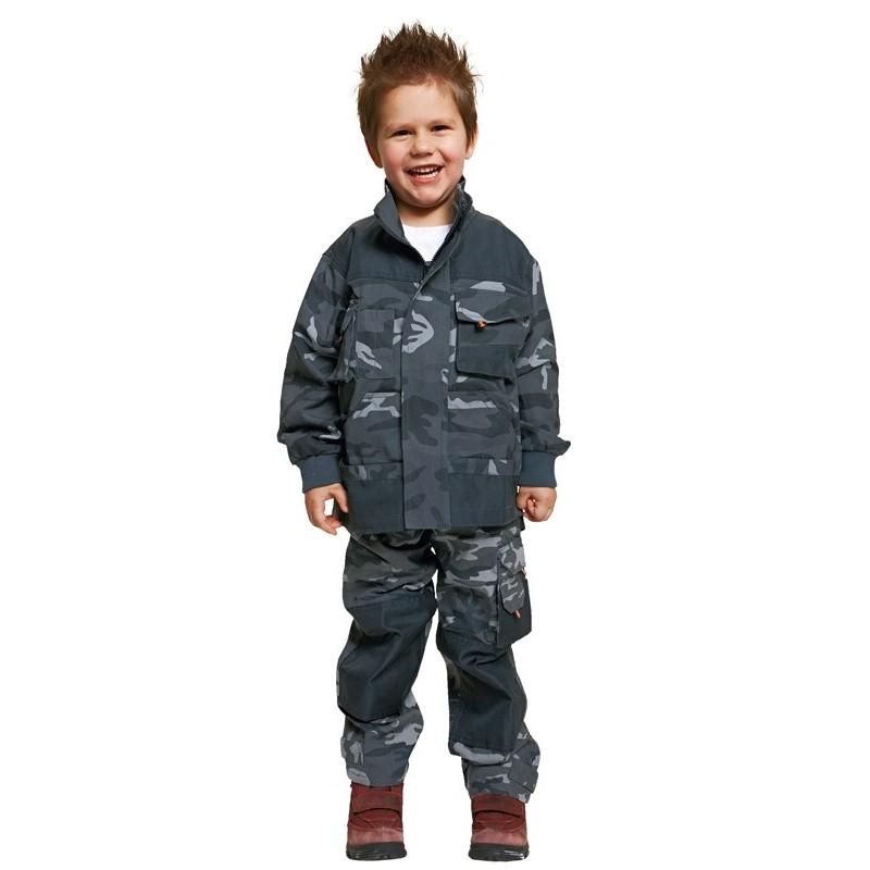 EMERTON KIDS kabát camouflage
