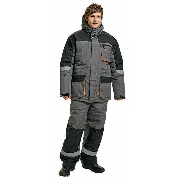 EMERTON téli dzseki szürke