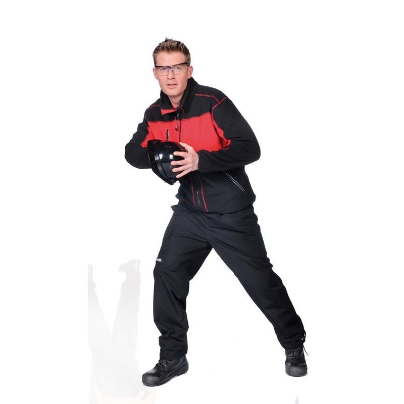 DURANGO férfi polár kabát piros/fekete