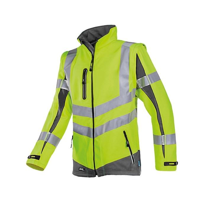 MALDEN softshell kabát sárga/navy