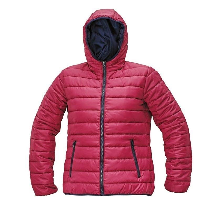 FIRTH LADY kabát sötét rózsaszín