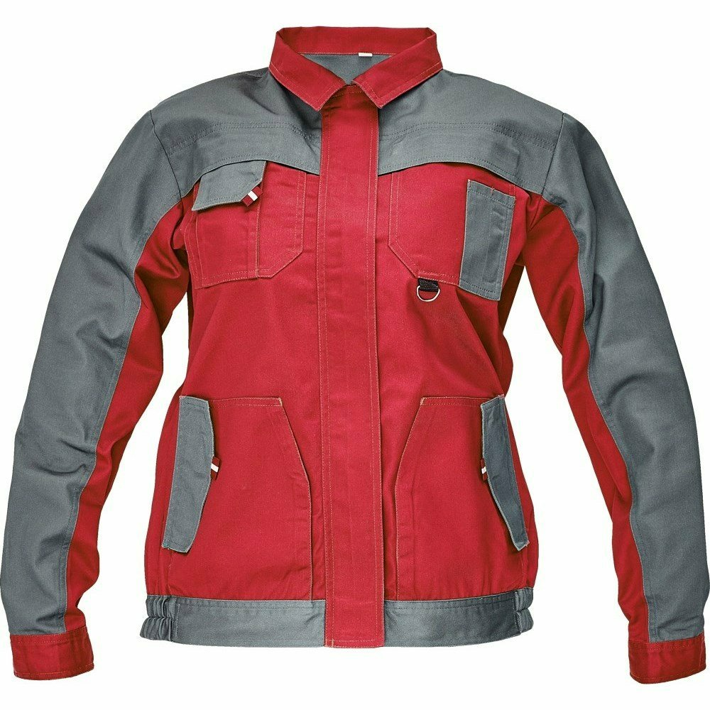 MAX EVOLUTION LADY kabát piros/szürke