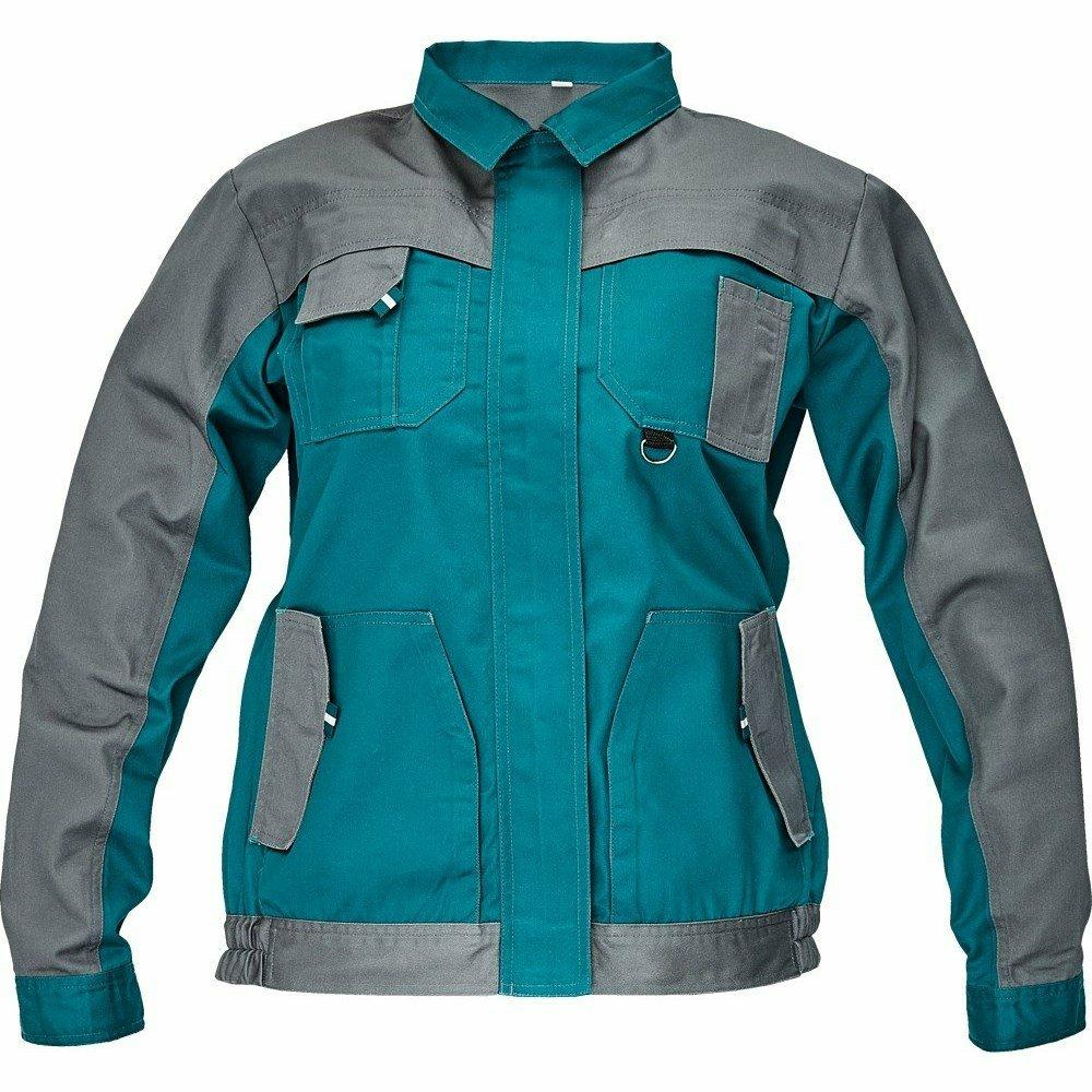 MAX EVOLUTION LADY kabát zöld/szürke