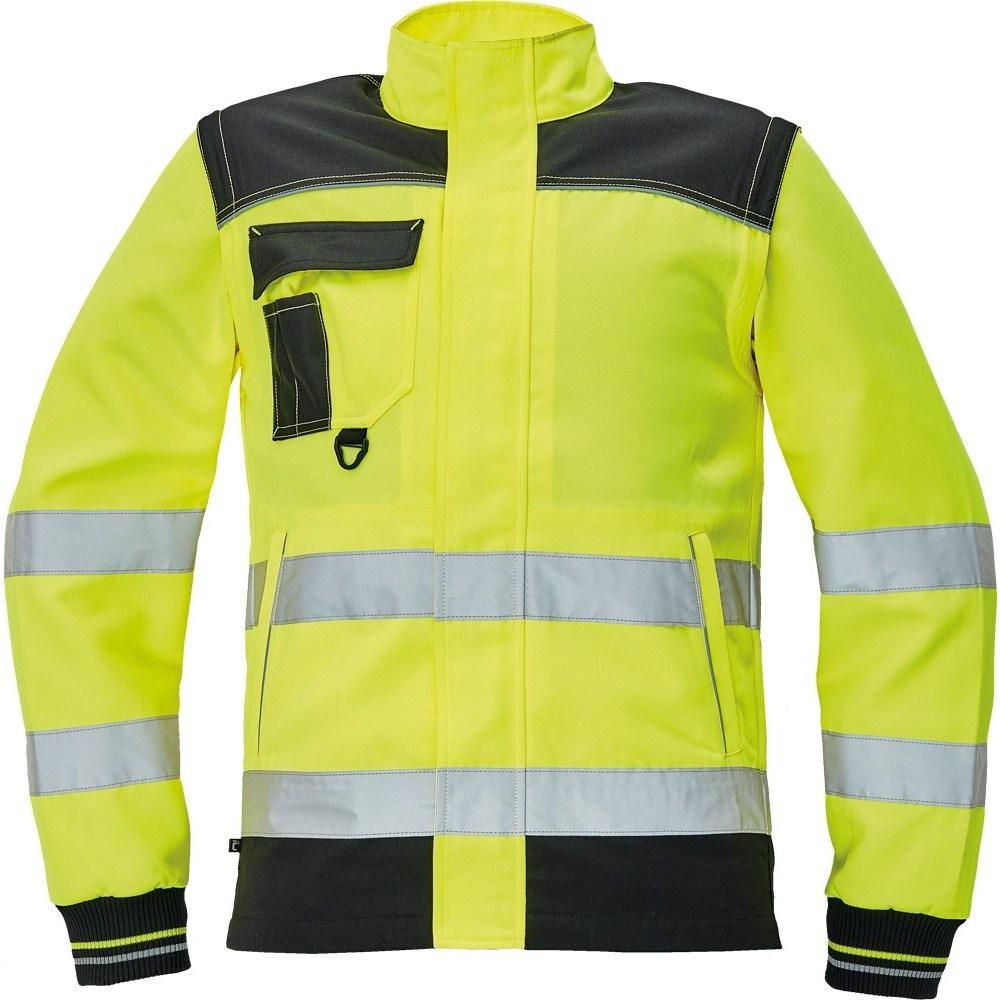 KNOXFIELD HV kabát sárga