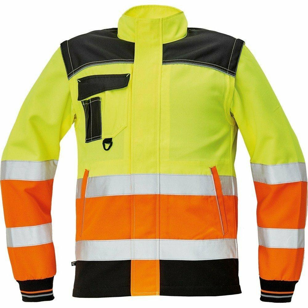 KNOXFIELD HV kabát sárga/narancssárga