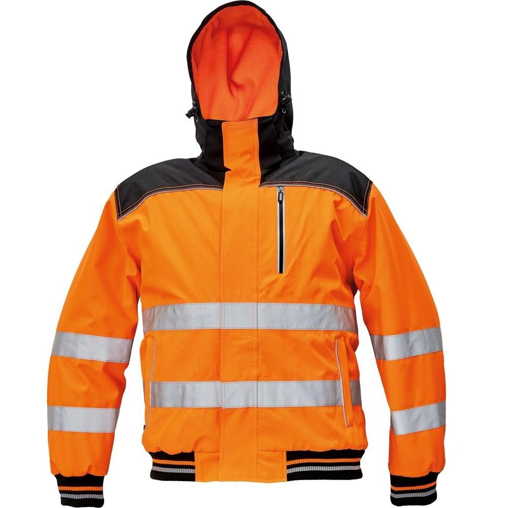 KNOXFIELD HV WINTER pilótadzseki narancssárga