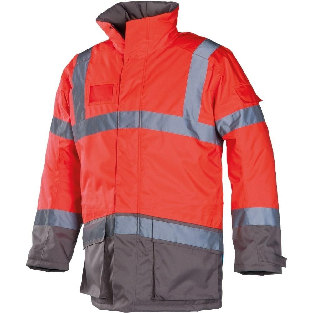 LIGHTFLASH HV téli esők piros/szürke