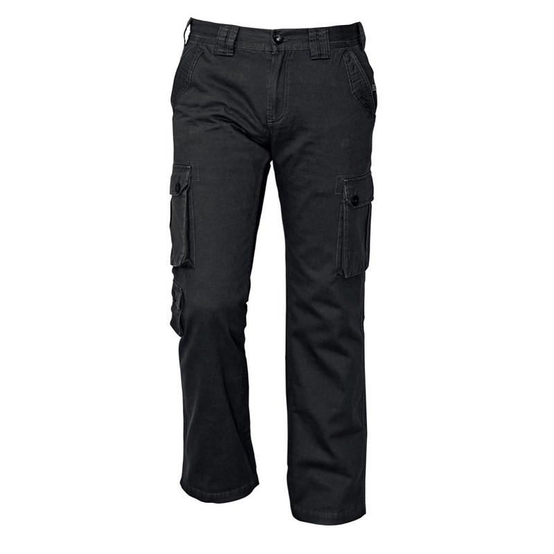 Divatos Oldalzsebes nadrág - CHENA CRV nadrág fekete