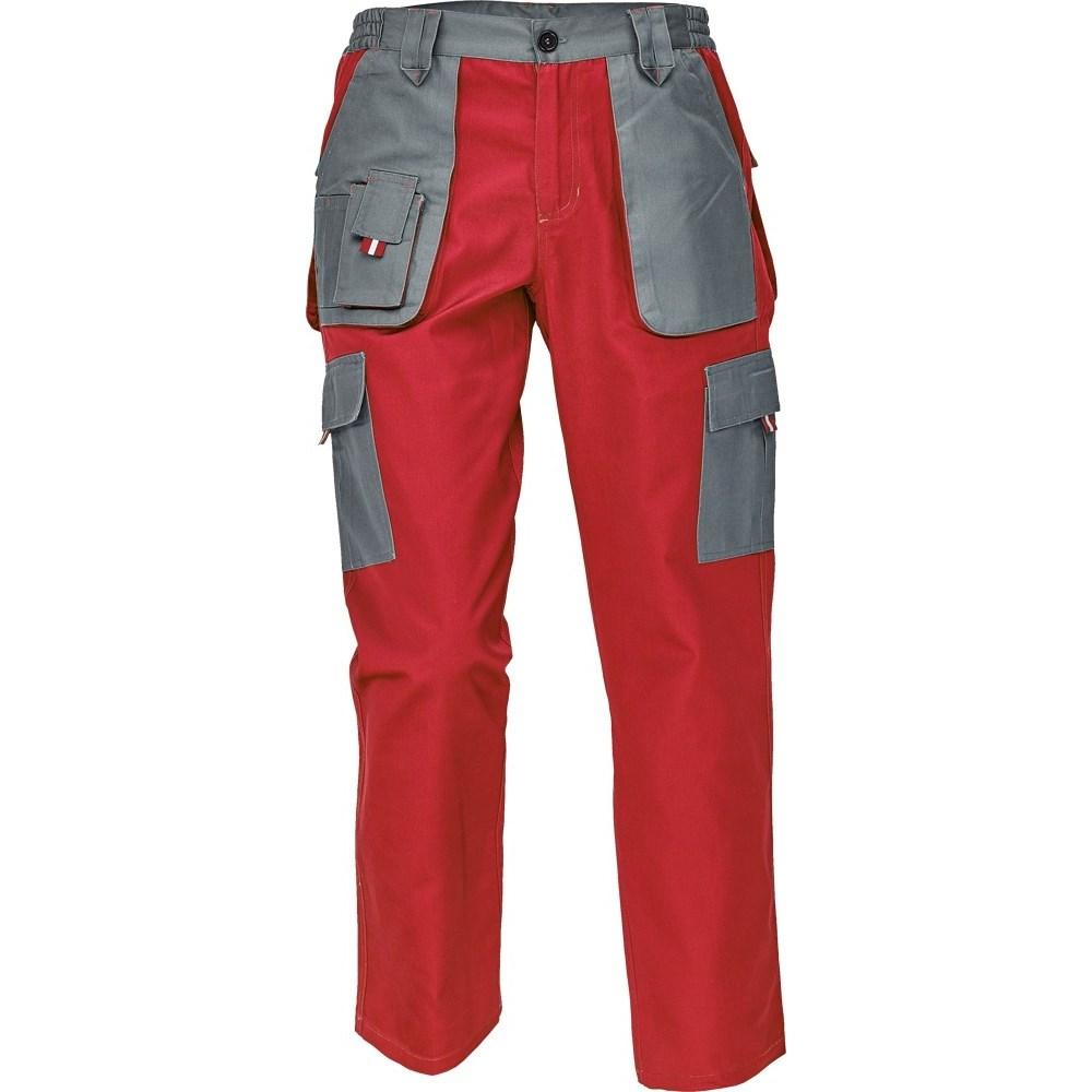 MAX EVOLUTION LADY nadrág piros/szürke