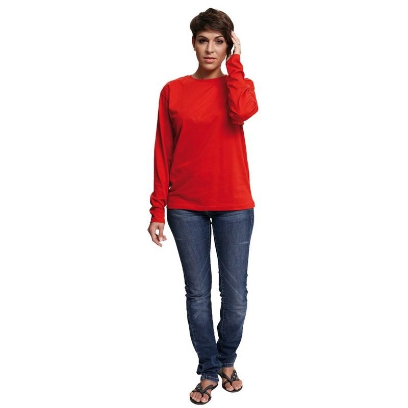 CAMBON hosszú ujjú trikó piros