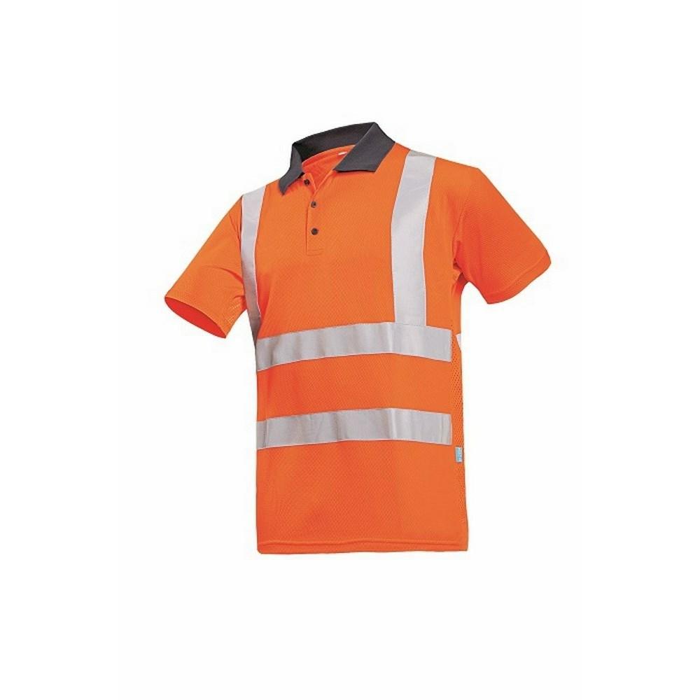 POPOLA HV polo-shirt HV narancssárga
