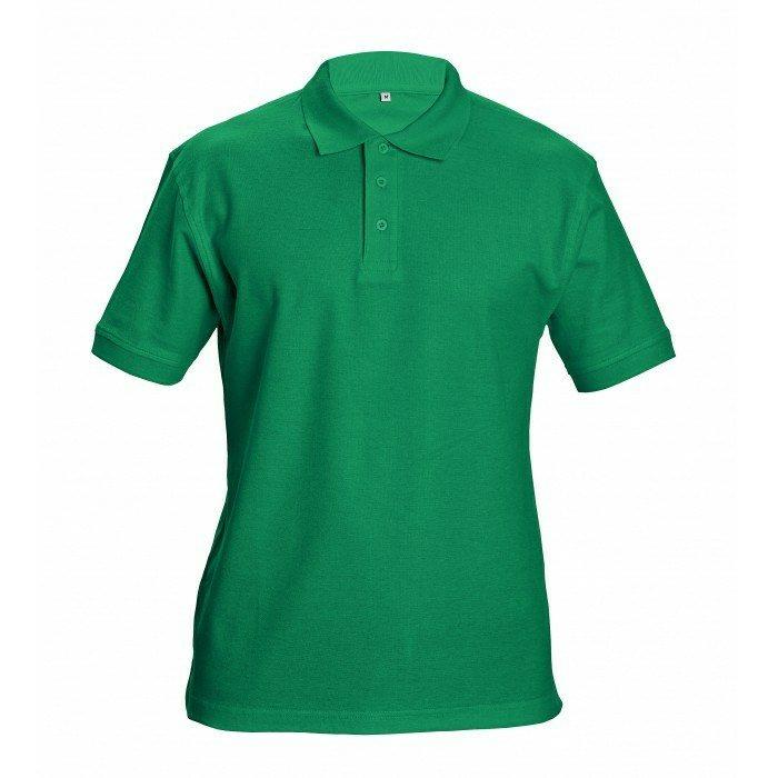 DHANU piké póló zöld