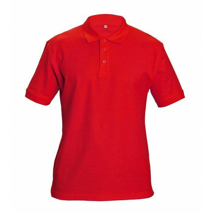 DHANU piké póló piros