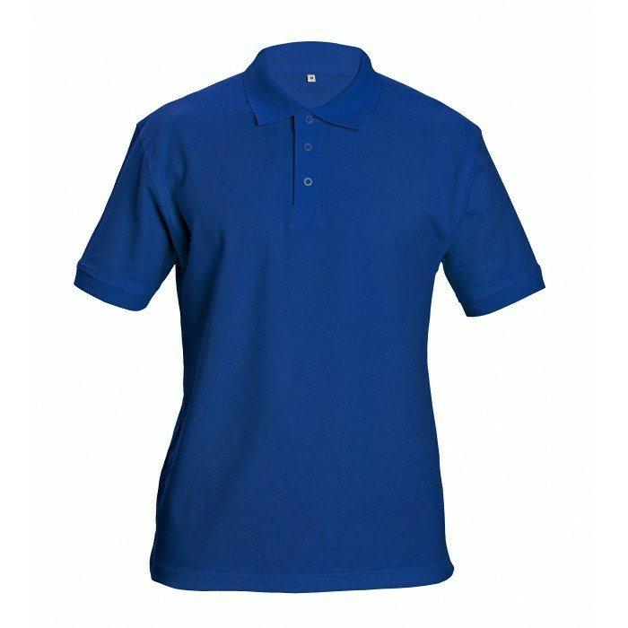 DHANU piké póló royal kék