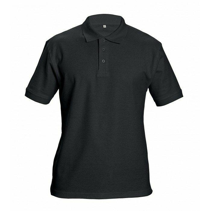 DHANU piké póló fekete