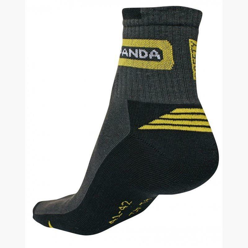 Panda zokni szürke