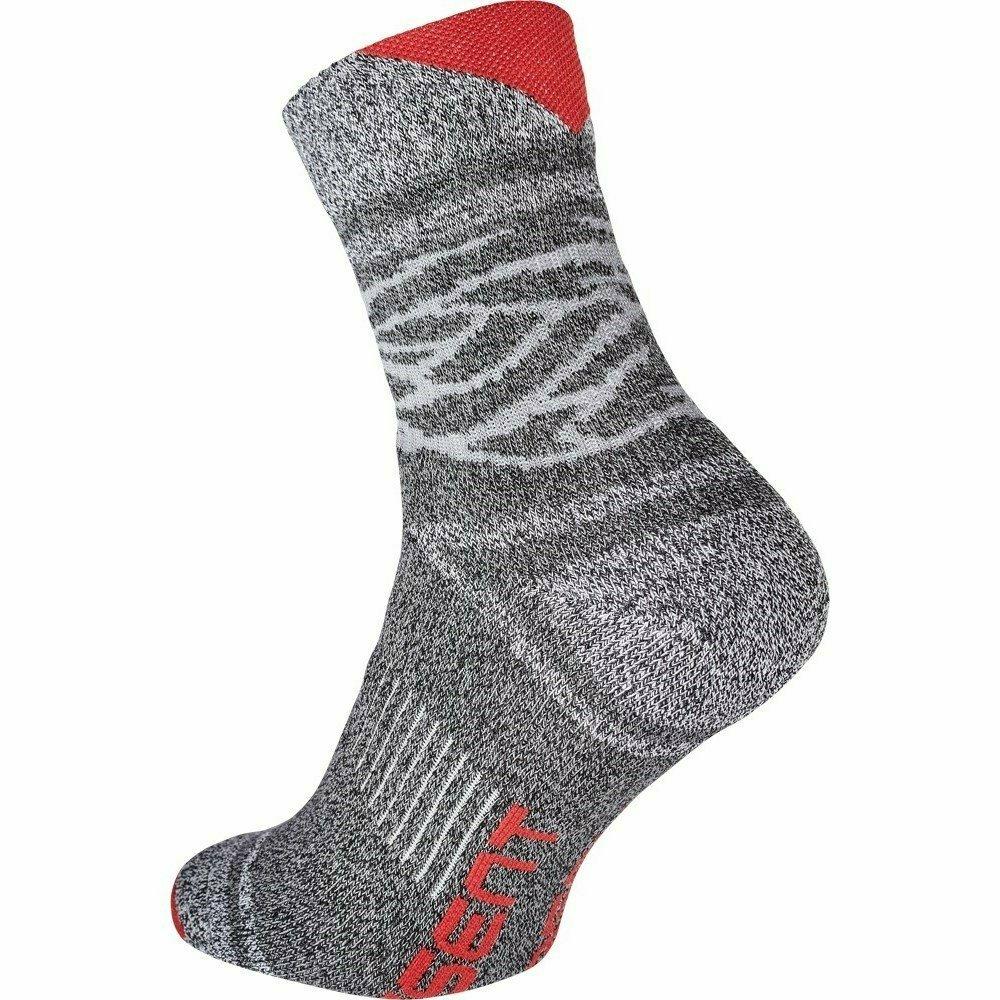 OWAKA zokni szürke/piros