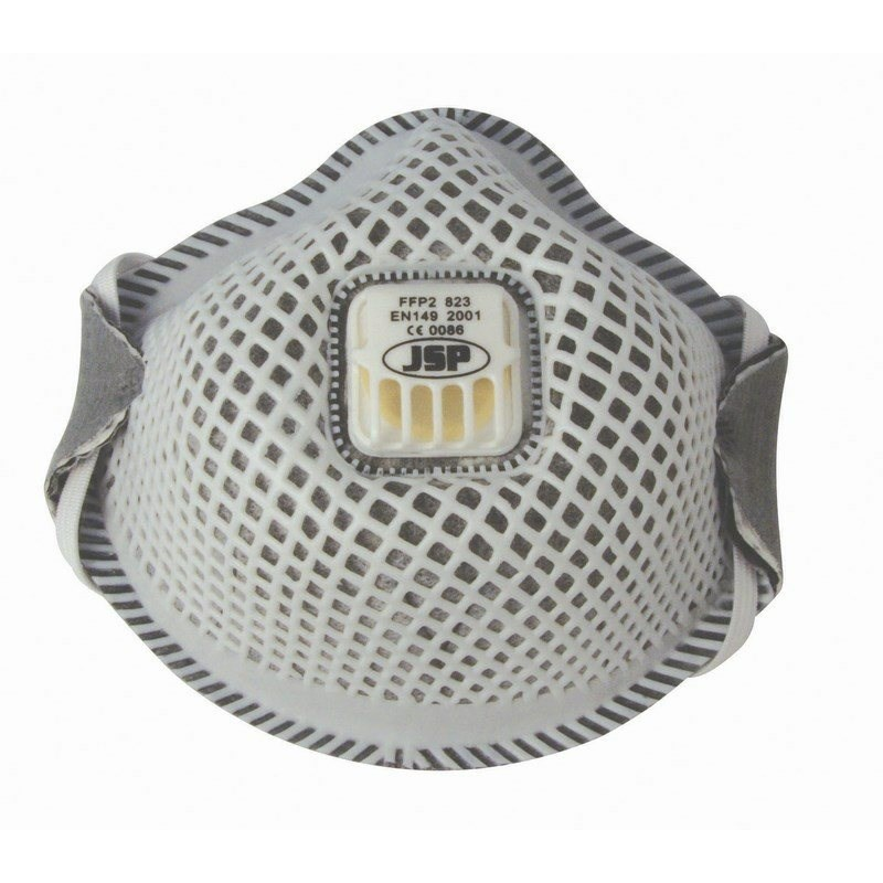 JSP Flexinet FFP2 823 részecskeszűrő aktív szén