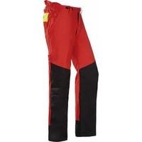 SIOEN SIP 1XSP Chainsaw nadrág piros/fekete