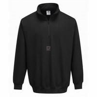 Sorrento zippzáras pulóver fekete