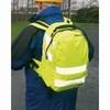 Jól láthatósági hátizsák sárga