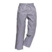 Bromley séf nadrág kockás (kék fehér)