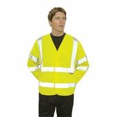 Jól láthatósági dzseki sárga
