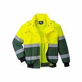Redwood Hi-Vis Bomber kabát sárga / zöld