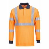 Lángálló RIS pólóing narancs