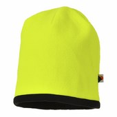 Kifordítható HiVis sapka sárga / fekete