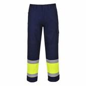 Hi-Visodaflame nadrág sárga / tengerészkék