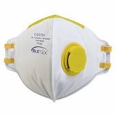 FFP1 szelepes Dolomit légzésvédő maszk (20 db) fehér