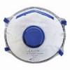 FFP2 aktívszenes szelepes Dolomit légzésvédő maszk (10 db) fehér