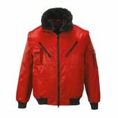 Pilóta dzseki piros