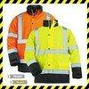 ROADWAY télikabát, sárga/kék, melegbélés, Oxford külső
