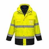 Hi-Vis Lite 3 az 1-ben kabát  sárga/Kék
