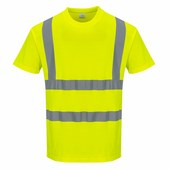 Cotton Comfort rövid ujjú póló sárga