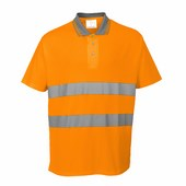 Cotton Comfort pólóing narancs