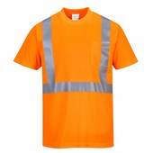 HiVis póló zsebbel narancs narancs