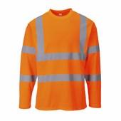 Hi-Vis hosszú ujjú pólóing Narancs
