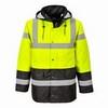 Kontraszt Traffic kabát sárga / fekete